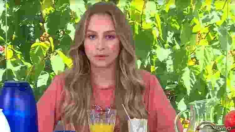 Carla Diaz - Reprodução/TV Globo - Reprodução/TV Globo