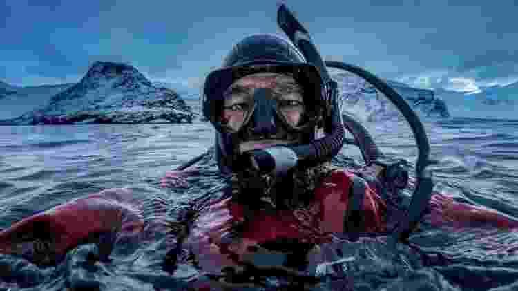 Amos Nachoum combinou suas duas paixões: mergulho e fotografia - Amos Nachoum/BBC - Amos Nachoum/BBC