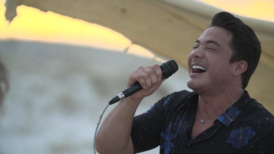 """Wesley Safadão canta em """"No Limite"""" - Divulgação/Globo"""
