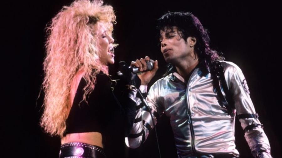 Sheryl Crow e Michael Jackson - Reprodução/Divulgação