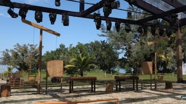 Um dos ambientes do reality show 'Ilha Record'