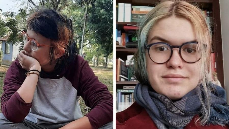 Dimitri e Girlene, estagiários de uma grande editora nacional - Arquivo pessoal