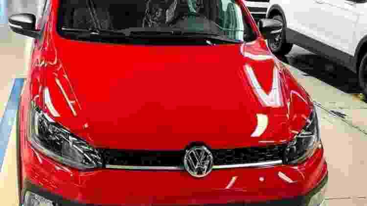Último Volkswagen Fox a sair da linha de produção no Brasil - Reprodução - Reprodução