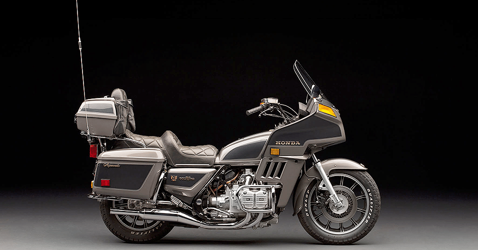 Honda Gold Wing 40 anos