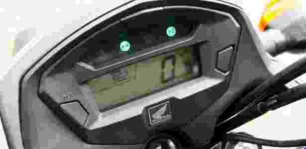 Honda CG 125i Fan painel - Mario Villaescusa/Infomoto - Mario Villaescusa/Infomoto