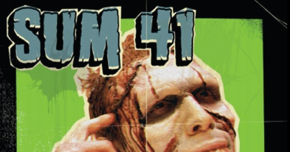 "Capa de ""Does This Look Infected?"", do Sum 41"