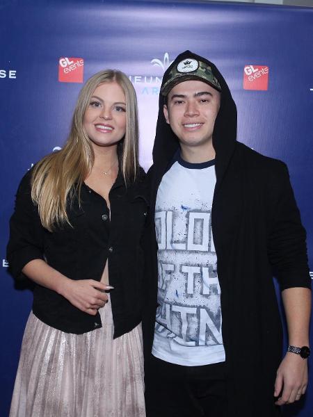 O youtuber Whindersson Nunes e a noiva, Luísa Sonza - Marcello Sá Barretto/AgNews