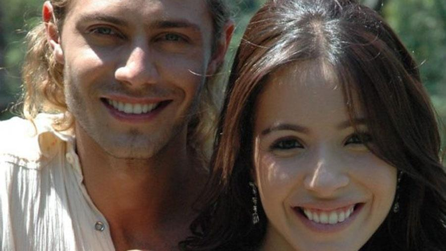"""Renata Domingues e André Bankoff formam o casal protagonista de """"Bicho do Mato"""" - Divulgação/TV Record"""