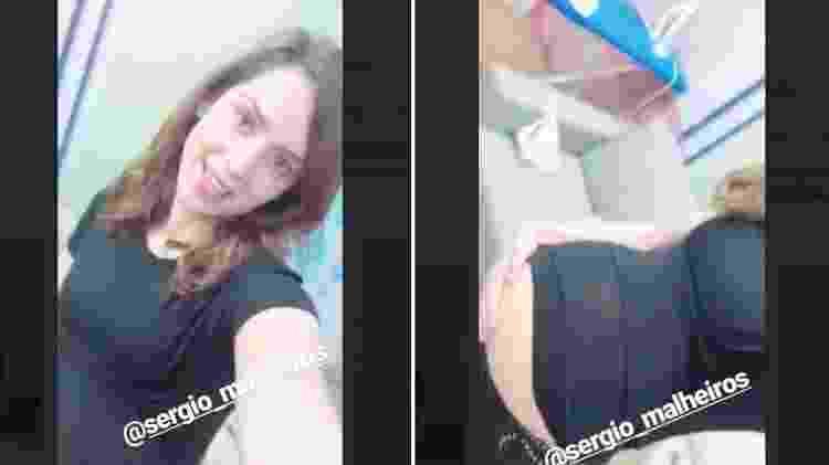 Sophia Abrahão usa barriguinha falsa de gravidez - Reprodução/Instagram - Reprodução/Instagram
