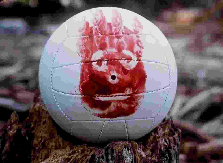 """Bola de vôlei Wilson no filme """"Náufrago"""" (2000) - Divulgação"""