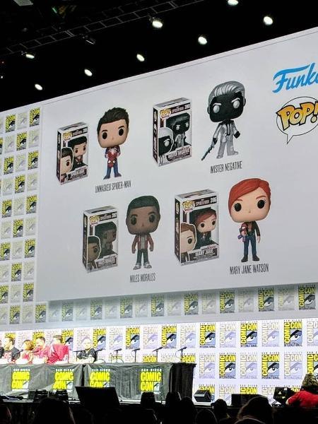 Bonequinhos ganharam até painel na Comic-Con para mostrar novidades - Instagram/Reprodução