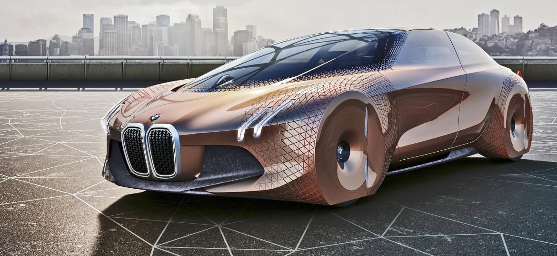 BMW Vision Next 100 Concept: estudo da marca alemã prevê que os veículos serão totalmente autônomos e elétricos daqui a 100 anos. Chegaremos lá?  - Divulgação