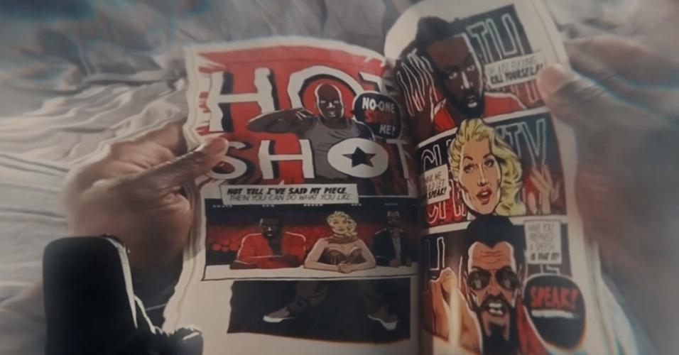 """Episódio """"Black Museum"""" teve uma HQ desenhada por Butcher especialmente para figurar nas cenas"""
