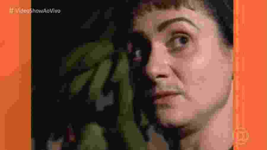 """Zezé Polessa relembra bigode na minissérie """"Memorial de Maria Moura"""" (1994) - Reprodução/Globo"""