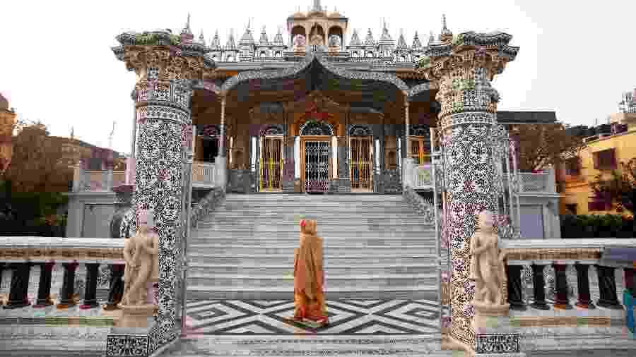 Templo de Sheetalnathji Jain, em Kolkata, na Índia - iStock