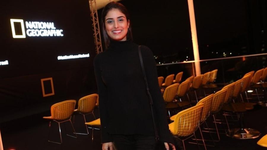Leticia Almeida em evento na National Geographic no Rio - Reginaldo Teixeira/CS Eventos