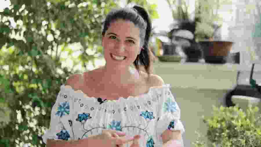 """Ex-apresentadora do """"Bake Off Brasil"""", Carol Fiorentino anuncia gravidez - Reprodução/YouTube/Carol Fiorentino"""