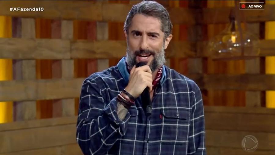"""Marcos Mion, apresentador do reality """"A Fazenda 10"""" - Reprodução/RecordTV"""
