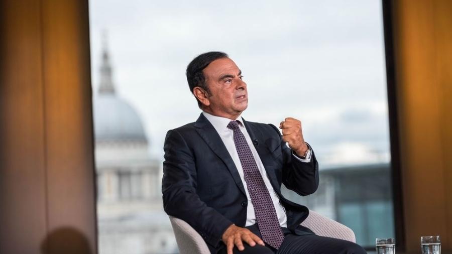 Carlos Ghosn, Renault-Nissan - Simon Dawson/Bloomberg