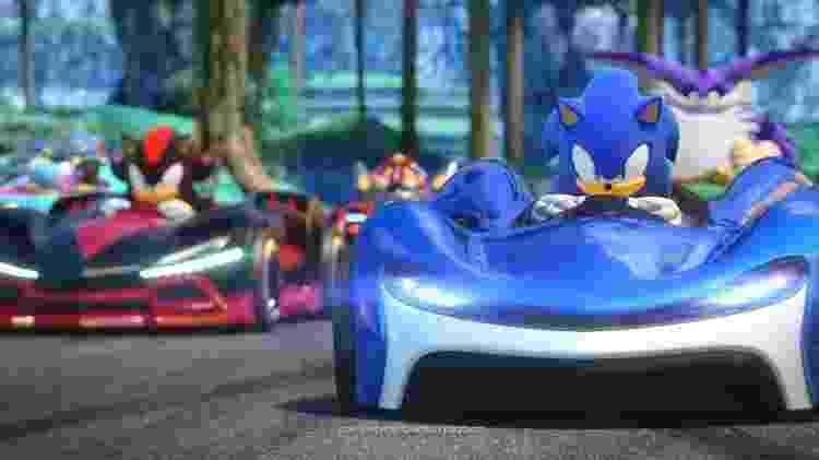 Team Sonic Racing 1 - Reprodução - Reprodução