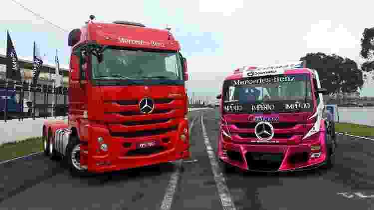 Poucas semelhanças: apesar do design, os caminhões são totalmente diferentes entre si - Vitor Matsubara/UOL