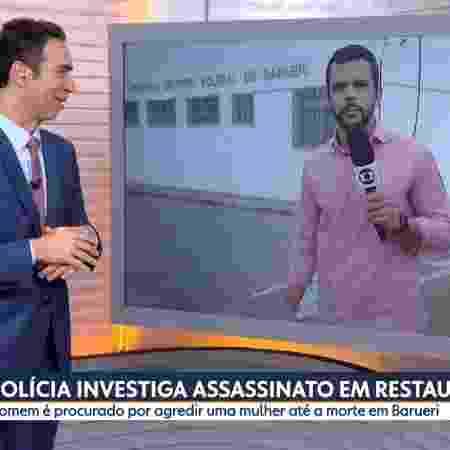 Tralli vira meme - Reprodução/TV Globo - Reprodução/TV Globo