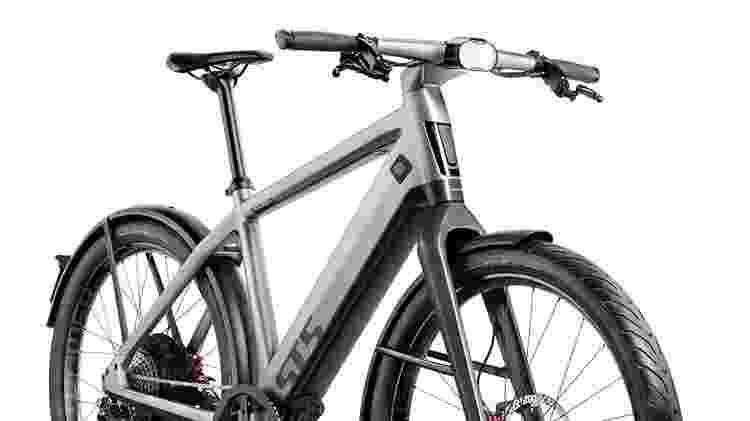 Bicicleta da suíça Stromer traz quadro de alumínio, recarga por indução e motor de 850 W - Divulgação