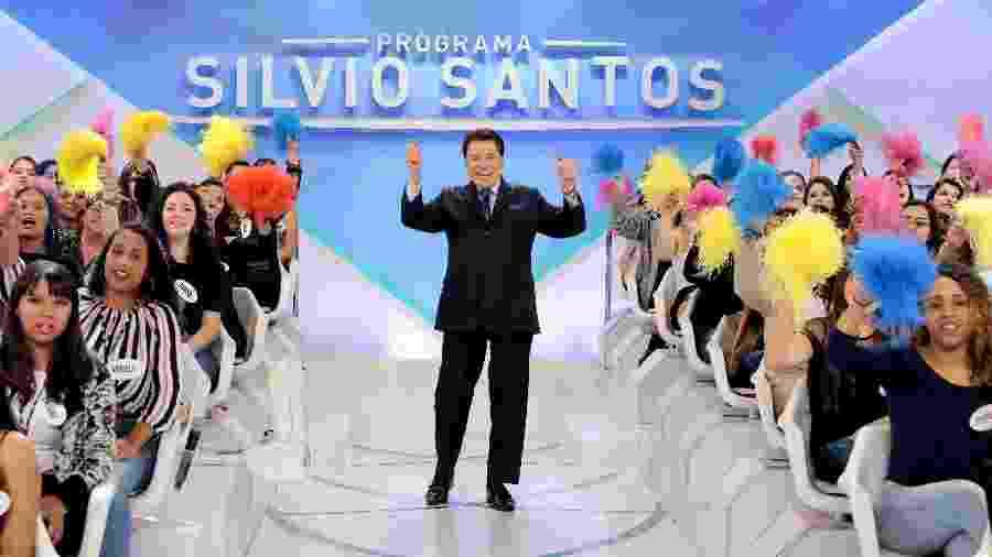 Silvio Santos, dono e apresentador do SBT, 2º lugar no ibope em SP e no PNT - Lourival Ribeiro/SBT