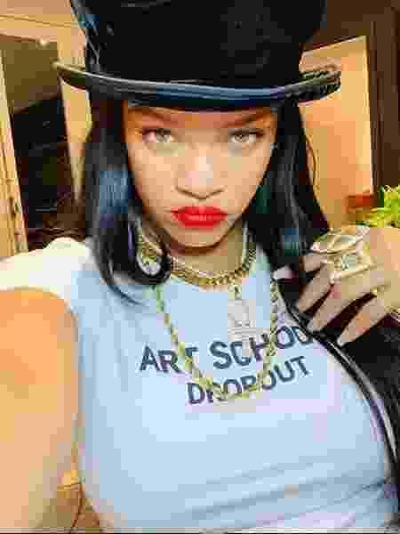 Rihanna não se pronunciou sobre polêmica até o momento - Reprodução/Instagram