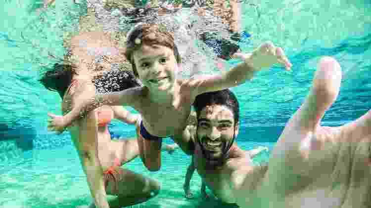 Diversão na piscina do Rio Quente Resorts: para toda a família - Gabriel Boieras/Divulgação - Gabriel Boieras/Divulgação