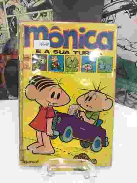 Primeira edição original da Mônica está à venda por R$ 500 na CCXP - Guilherme Machado/UOL