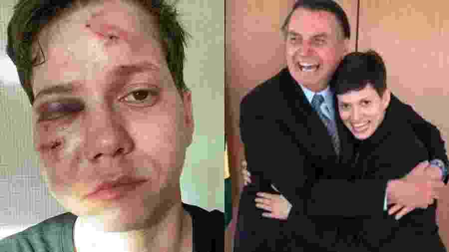 Karol Eller, amiga da família Bolsonaro, sofreu ataque homofóbico - Reprodução/Arquivo Pessoal