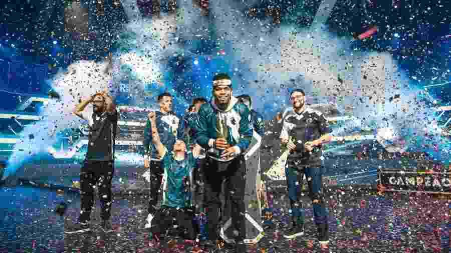 Team Liquid foi campeã da 1ª Etapa da Liga Brasileira de Free Fire - Divulgação/Garena