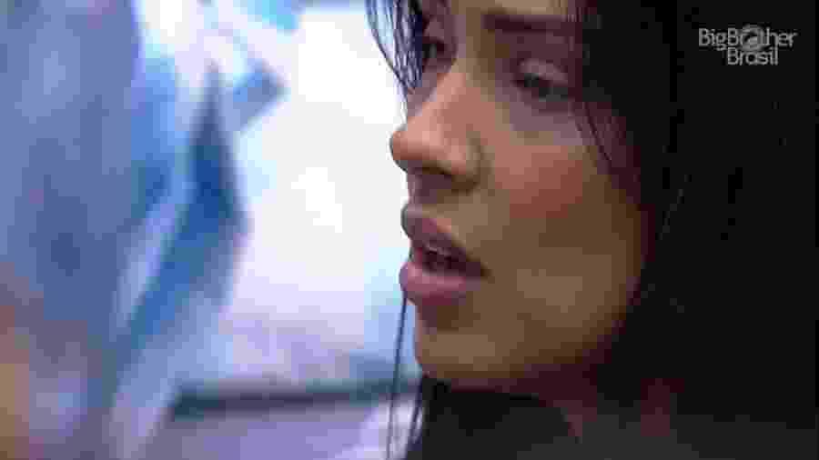 BBB 20 - Ivy conversa com Marcela no quarto - Reprodução/Globoplay