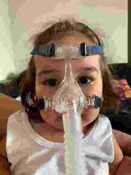 Marina respirador - Arquivo pessoal - Arquivo pessoal