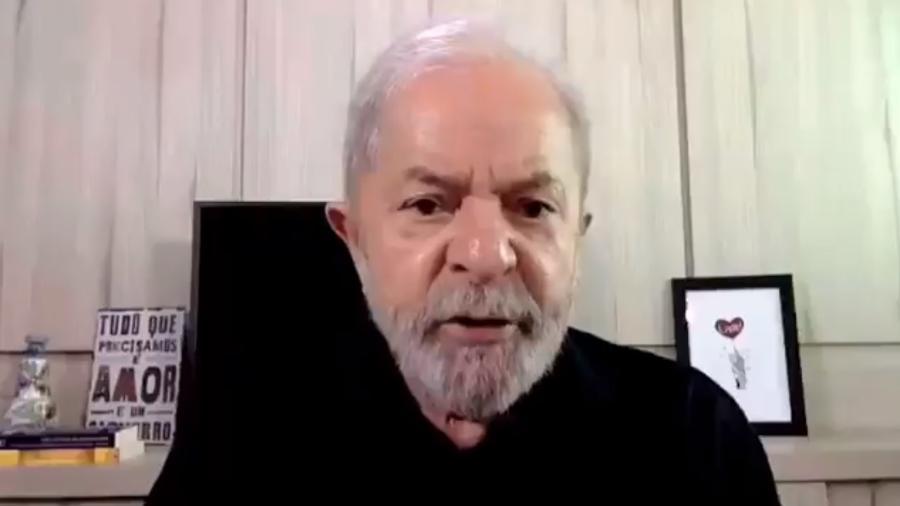 Além de ex-presidente, denúncia inclui também Antonio Palocci e Paulo Okamotto - Reprodução/Twitter
