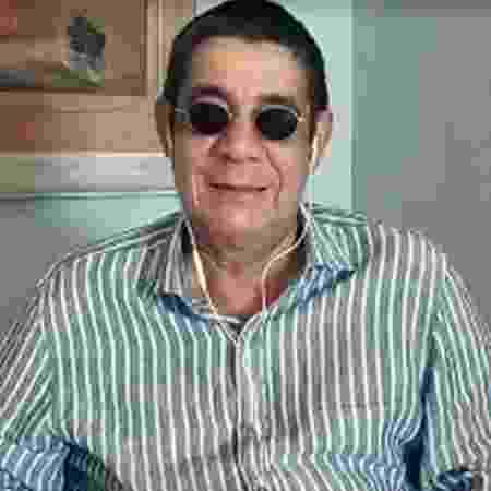 Zeca Pagodinho no Conversa com Bial  - Reprodução/vídeo