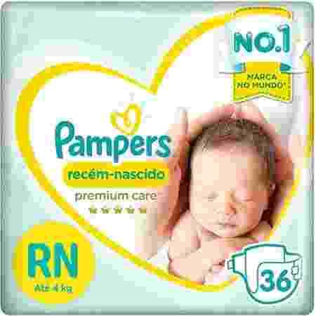 Fralda recém-nascido Premium Care 36 unidades - Pampers - Divulgação - Divulgação