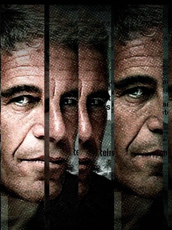 """Arte da série documental """"Sobrevivendo a Jeffrey Epstein"""", do Lifetime"""