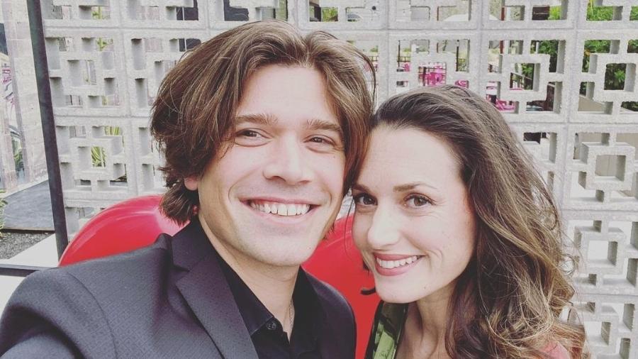 Zac Hanson e a mulher, Kate Tucker - Reprodução/Instagram @zachanson
