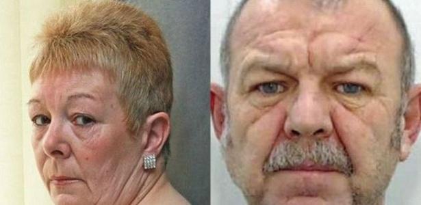 Susan Copestick (à esq.) foi atacada na casa de sua mãe, em Rochdale, na Inglaterra - BBC