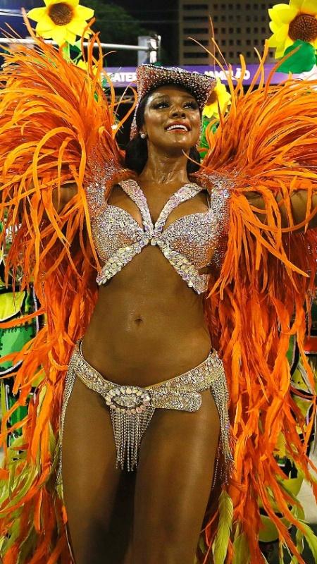 Cris Vianna no Carnaval 2016 - MARCELO DE JESUS / UOL