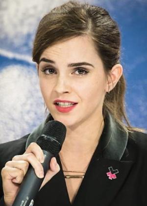 A atriz Emma Watson - Xinhua