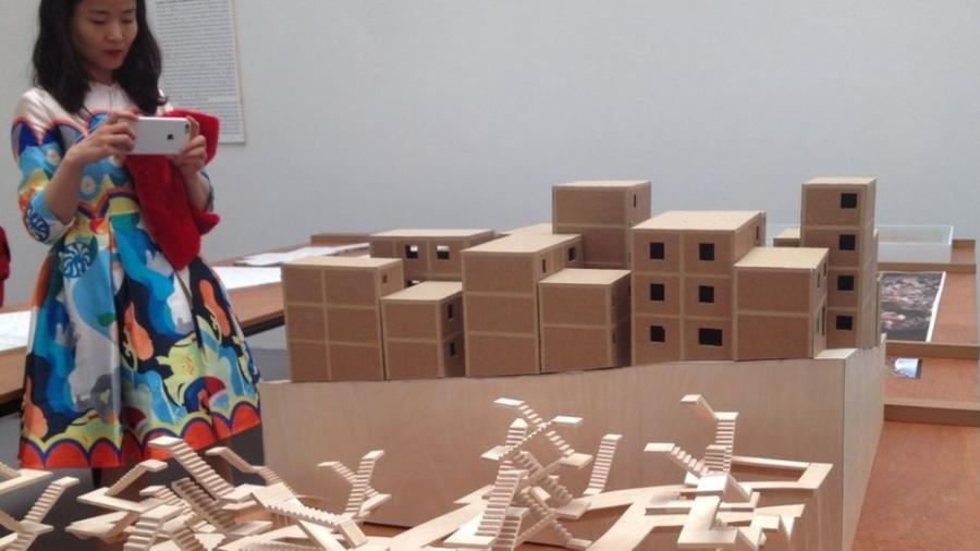 """Batizado como """"Porto Seguro"""", o projeto brasileiro foi criado pelo arquiteto suíço Christian Kerez para o bairro Jardim Colombo, que integra o complexo de Paraisópolis, mas sua concretização segue a passos lentos desde 2009 - Divulgação"""