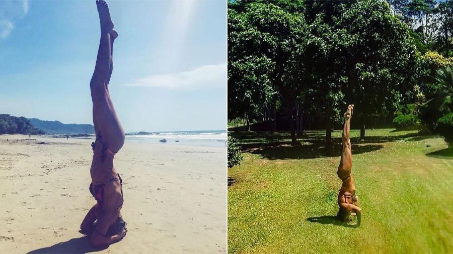 À esquerda, a apresentadora e modelo Mariana Goldfarb; à direita, a atriz Grazi Massafera - Montagem/Fotos Reprodução/Instagram