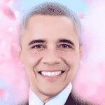 Barack Obama acabou de deixar a Casa Branca, e branco ficou o rosto dele no aplicativo chinês! O ex-presidente dos Estados Unidos mudou bastante com rosto de mangá - Reprodução/Meitu