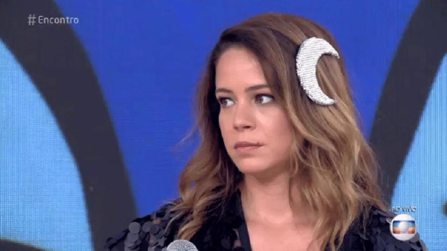 Leandra Leal reclama de site após reproduzir foto de sua bunda - Reprodução/TV Globo
