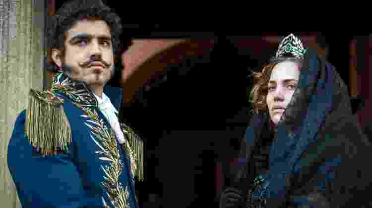 """Leopoldina (Letícia Colin) e Pedro (Caio Castro) de luto em """"Novo Mundo"""" - Raquel Cunha/TV Globo - Raquel Cunha/TV Globo"""