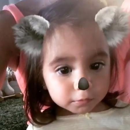 """Filha de Deborah Secco """"vira"""" coala em rede social e se diverte - Reprodução/Instagram/dedesecco"""