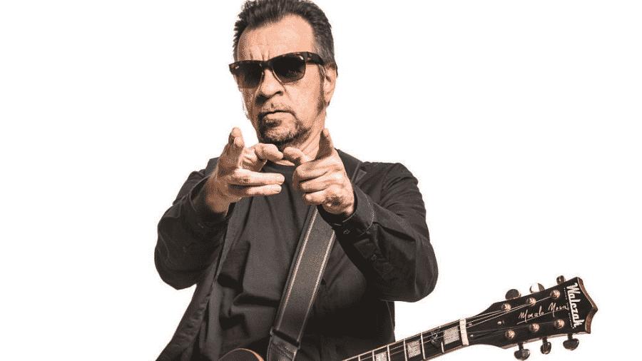 O cantor Marcelo Nova, líder do Camisa de Vênus - Luiz Maximiano/Divulgação
